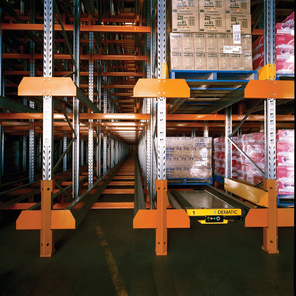 Rapid Runner Satellite Racking System