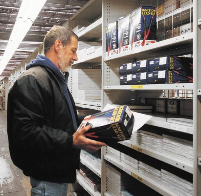 miniload warehouse shelving systems