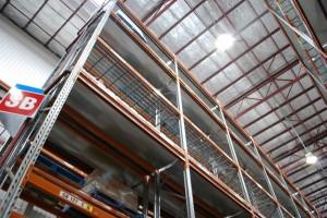 CD Auckland In Rack & Roof Sprinklers