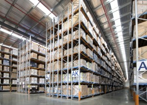Double-deep rack_pallet racking